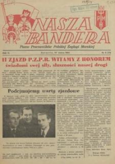 Nasza Bandera : pismo Pracowników Polskiej Żeglugi Morskiej. R.2, 1954 nr 5 (10)