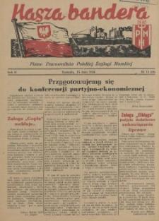 Nasza Bandera : pismo Pracowników Polskiej Żeglugi Morskiej. 1954