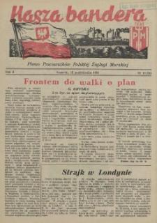 Nasza Bandera : pismo Pracowników Polskiej Żeglugi Morskiej. R.2, 1954 nr 19 (24)