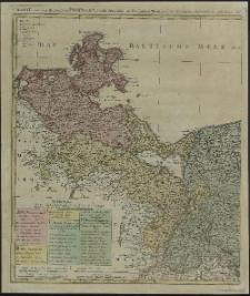Charte von dem Herzogthum Pommern, sowohl Schwedisch- als Preussischen Theils, [..] und Gadebuschis