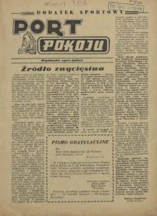 Port Pokoju : pismo Komitetu Zakładowego PZPR i Rad Zakładowych ZPS. R.5, 1955 nr 3