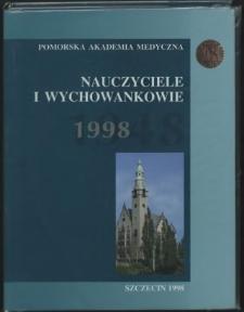 Album pięćdziesięciolecia Pomorskiej Akademii Medycznej : nauczyciele i wychowankowie : Szczecin 1948-1998