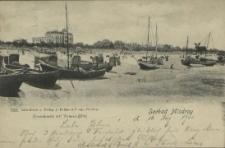 Seebad Misdroy, Strandpartie mit Victoria-Hotel