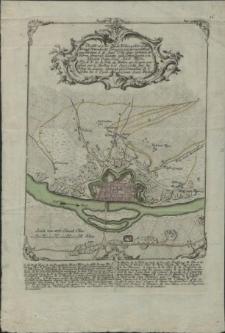 Plan von der Stadt Wollin welche vo den Königl. Schwedische Troupen mit stürmend Hand einge nornen d.16.ept.1759 [...]