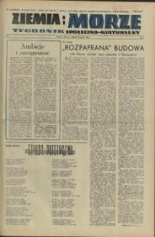 Ziemia i Morze : tygodnik społeczno-kulturalny.R.1, 1956 nr 7