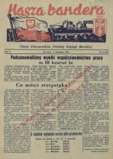 Nasza Bandera : pismo Pracowników Polskiej Żeglugi Morskiej. R.2, 1954 nr 20 (25)