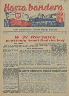 Nasza Bandera : pismo Pracowników Polskiej Żeglugi Morskiej. R.3, 1955 nr 3 (31)