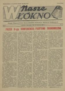 Nasze Włókno : pismo pracowników Szczecińskich Zakładów Włókien Sztucznych. R.1, 1955 nr 2