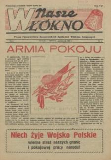 Nasze Włókno : pismo pracowników Szczecińskich Zakładów Włókien Sztucznych. R.1, 1955 nr 4