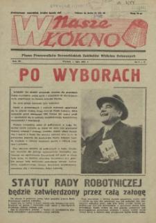 Nasze Włókno : pismo pracowników Szczecińskich Zakładów Włókien Sztucznych. R.3, 1957 nr 1-2
