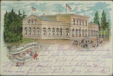 Gruss aus dem Schützenhaus Stargard in Pommern