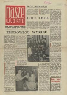 Nasze Włókno : pismo pracowników Szczecińskich Zakładów Włókien Sztucznych. R.1, 1964 nr 2