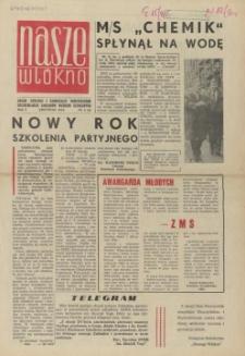 Nasze Włókno : pismo pracowników Szczecińskich Zakładów Włókien Sztucznych. R.1, 1964 nr 4