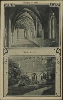 Cammin in Pommern, Kreuzgang des Domes