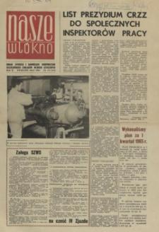 Nasze Włókno : pismo pracowników Szczecińskich Zakładów Włókien Sztucznych. R.2, 1965 nr 4/5