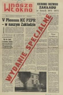 Nasze Włókno : pismo pracowników Szczecińskich Zakładów Włókien Sztucznych. 1970 wyd.spec.