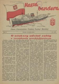 Nasza Bandera : pismo Pracowników Polskiej Żeglugi Morskiej. R.4, 1956 nr 1 (44)