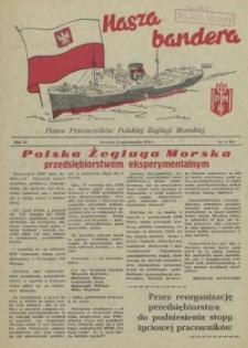 Nasza Bandera : pismo Pracowników Polskiej Żeglugi Morskiej. R.4, 1956 nr 5 (48)