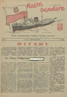 Nasza Bandera : pismo Pracowników Polskiej Żeglugi Morskiej. R.4, 1956 nr 7 (50)