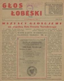 Głos Łobeski. 1952 nr 4