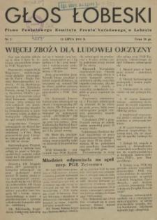 Głos Łobeski. 1953 nr 2
