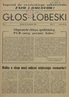 Głos Łobeski. R.1, 1954 nr 1