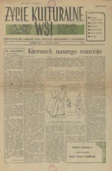 Życie Kulturalne Wsi : dwutygodnik Zarządu Woj. Związku Samopomocy Chłopskiej. R.1, 1955 nr 1