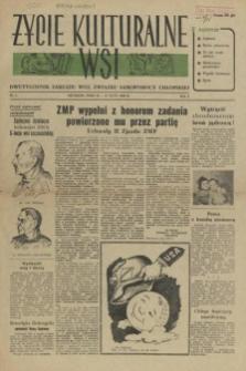 Życie Kulturalne Wsi : dwutygodnik Zarządu Woj. Związku Samopomocy Chłopskiej. R.1, 1955 nr 4