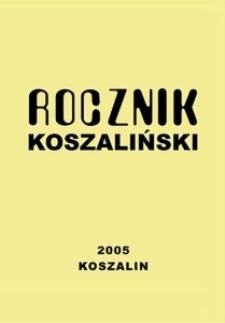 Rocznik Koszaliński. 2005, nr 33