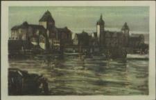 Stettin, Hakenterrasse an der Oder