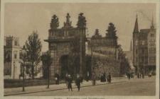 Stettin, Königstor und Stadttheater