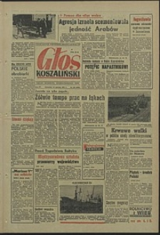Głos Koszaliński. 1967, czerwiec, nr 143