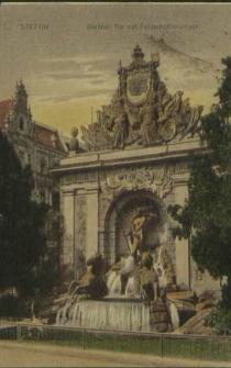 Stettin, Berliner Tor mit Felderhoffbrunnen