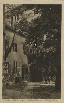 Stettin, Hof der alten Marienstiftes am Königsplatz