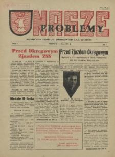 Nasze Problemy : miesięcznik Oddziału Okręgowego Z.S.S. Szczecin. R.1, 1955 nr 3