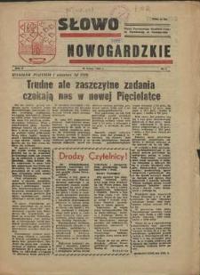 Słowo Nowogardzkie. R.2, 1956 nr 1