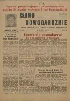 Słowo Nowogardzkie. R.3, 1955 nr 2
