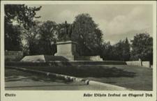 Stettin, Kaiser Wilhelm Denkmal am Skagerrak Platz