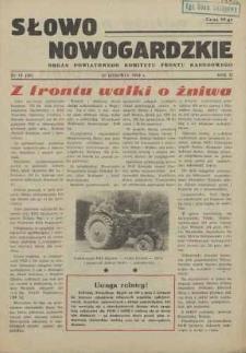 Słowo Nowogardzkie. R.3, 1954 nr 14