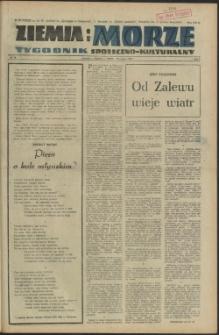 Ziemia i Morze : tygodnik społeczno-kulturalny. R.1, 1956 nr 14