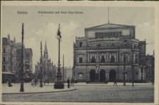 Stettin, Stadttheater und Peter Paul-Kirche