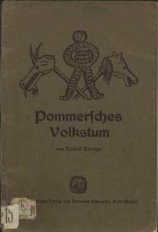 Pommersches Volkstum