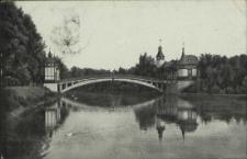 Stettin, Westendsee mit Brücke