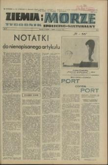 Ziemia i Morze : tygodnik społeczno-kulturalny. R.1, 1956 nr 15