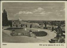 Stettin, Blick von der Hakenterrasse auf die Oder
