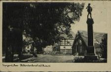 Stargard, Pommern, Heldendenkmal mit Museum