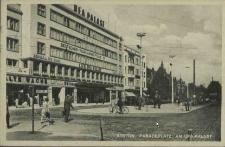 Stettin, Paradeplatz: Am Ufa-Palast
