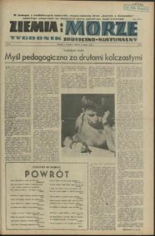 Ziemia i Morze : tygodnik społeczno-kulturalny. R.1, 1956 nr 16
