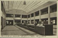 Kassenhalle der Städtischen Sparkasse zu Stettin