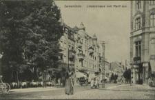 Swinemünde, Lindenstrasse vom Markt aus
